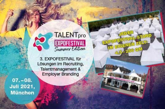 Veranstaltungsbild TALENTpro - Expofestival Summer 2022