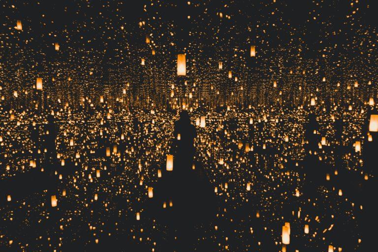 lighted lantern lot