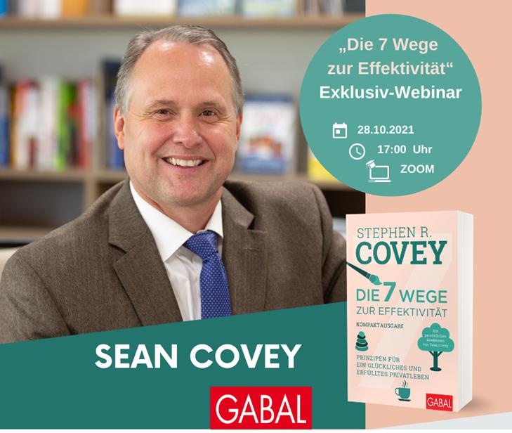 Veranstaltungsbild Exklusiv-Webinar mit Sean Covey zum Launch von